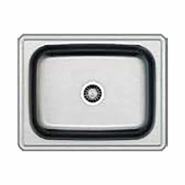 Νεροχύτης 63.5×50 Inox AISI304 Μονός