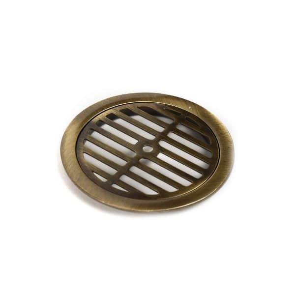 Σχάρα Φ100 Στρόγγυλη Bronze