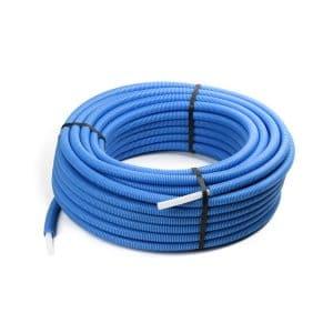 Σωλήνας Pert Φ16 Λευκός Επενδεδυμένος Μπλε