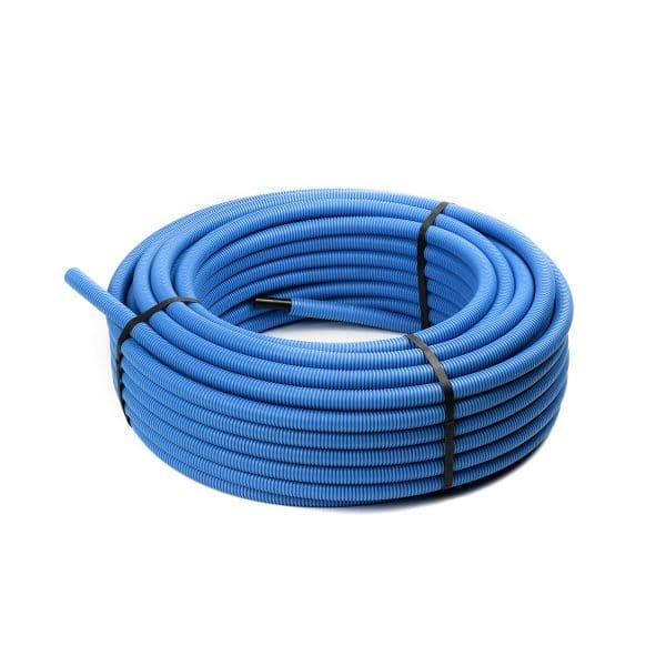 Σωλήνας Pert Φ16 Μαύρος Επενδεδυμένος Μπλε