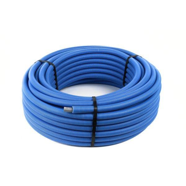Σωλήνας Βουτανίου Φ16 Γκρι Επενδεδυμένο Μπλε