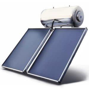 Ηλιακό Glass Titanium Επιλεκτικός Συλλέκτης 300LT 5τ.μ. (2 συλλ.)