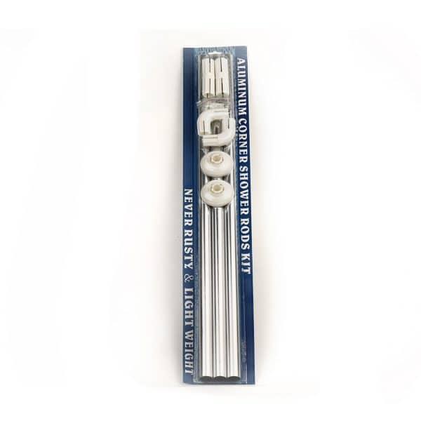 Βέργα Κουρτίνας Μπανιέρας Ν2 80x180 Χρωμέ